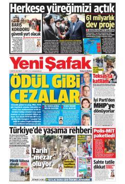 YENİ ŞAFAK - 04 Ağustos 2019