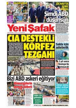 YENİ ŞAFAK - 01 Eylül 2019