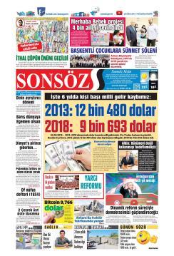 SONSÖZ - 03 Eylül 2019