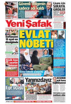 YENİ ŞAFAK - 04 Eylül 2019