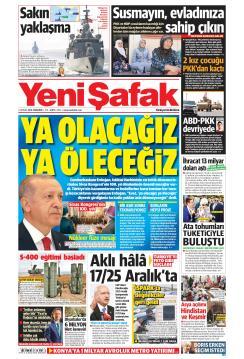 YENİ ŞAFAK - 05 Eylül 2019