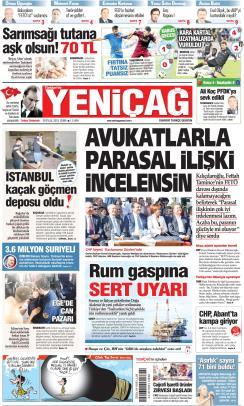 Türkiye'de Yeni Çağ - 20 Eylül 2019