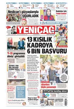 Türkiye'de Yeni Çağ - 23 Eylül 2019
