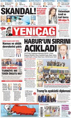 Türkiye'de Yeni Çağ - 26 Eylül 2019