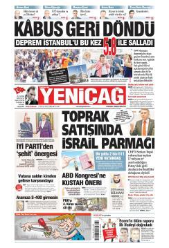 Türkiye'de Yeni Çağ - 27 Eylül 2019