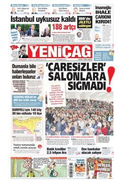 Türkiye'de Yeni Çağ - 28 Eylül 2019