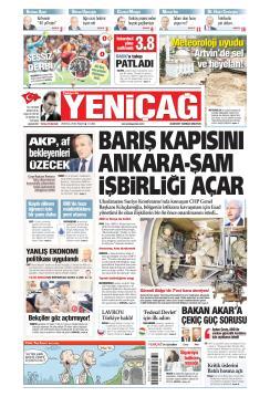 Türkiye'de Yeni Çağ - 29 Eylül 2019