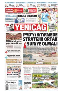Türkiye'de Yeni Çağ - 30 Eylül 2019