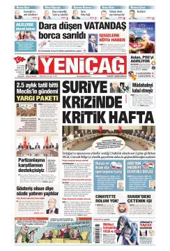 Türkiye'de Yeni Çağ - 01 Ekim 2019