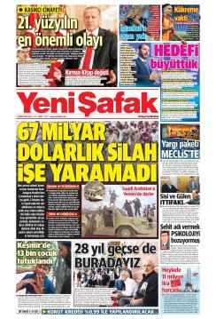 YENİ ŞAFAK - 01 Ekim 2019