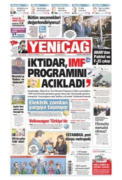 Türkiye'de Yeni Çağ - 03 Ekim 2019