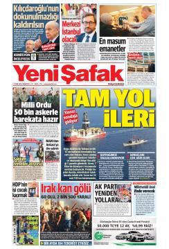 YENİ ŞAFAK - 05 Ekim 2019