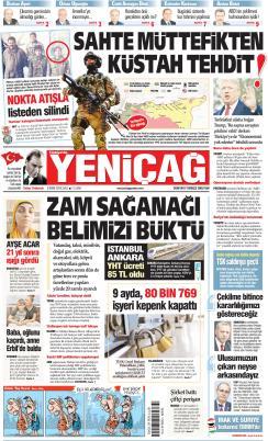 Türkiye'de Yeni Çağ - 08 Ekim 2019