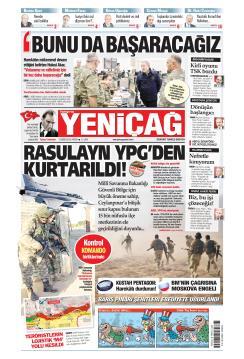 Türkiye'de Yeni Çağ - 13 Ekim 2019