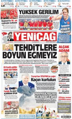 Türkiye'de Yeni Çağ - 14 Ekim 2019