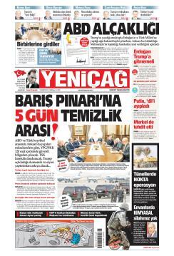 Türkiye'de Yeni Çağ - 18 Ekim 2019