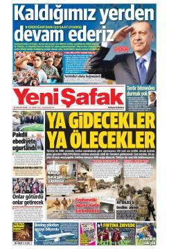 YENİ ŞAFAK - 20 Ekim 2019