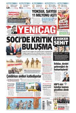 Türkiye'de Yeni Çağ - 22 Ekim 2019