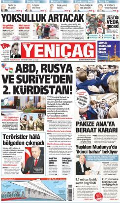 Türkiye'de Yeni Çağ - 08 Kasım 2019