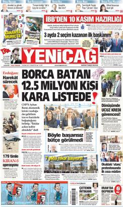 Türkiye'de Yeni Çağ - 09 Kasım 2019