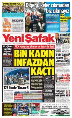YENİ ŞAFAK - 09 Kasım 2019