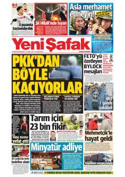 YENİ ŞAFAK - 18 Kasım 2019