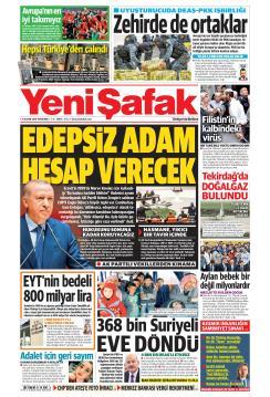 YENİ ŞAFAK - 21 Kasım 2019