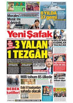 YENİ ŞAFAK - 24 Kasım 2019