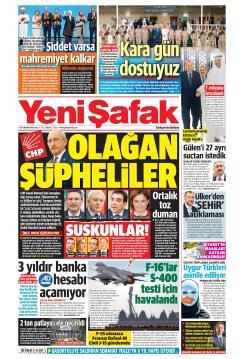 YENİ ŞAFAK - 26 Kasım 2019