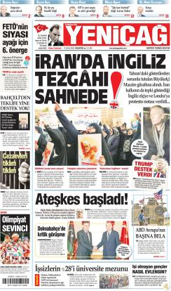 Türkiye'de Yeni Çağ - 13 Ocak 2020