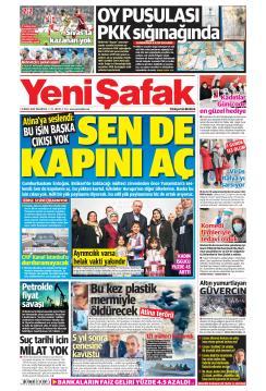 YENİ ŞAFAK - 09 Mart 2020