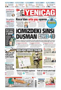 Türkiye'de Yeni Çağ - 26 Mart 2020