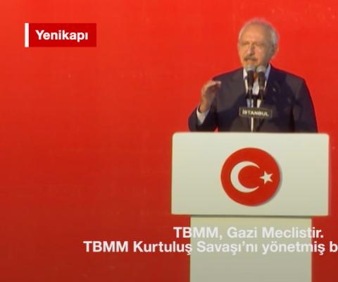 Kılıçdaroğlu: Artık yeni bir Türkiye var