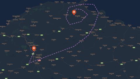 Orta Karadeniz Bölgesi Alçak Uçuş