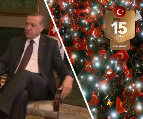 Erdoğan: I couldn't believe it at first