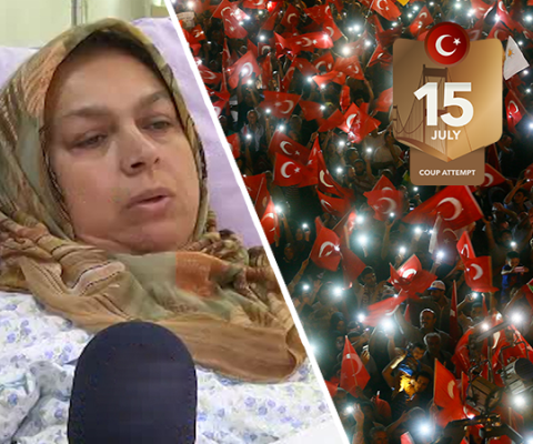 Would a Turkish soldier shoot a Turkish mother?