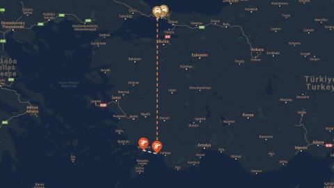 President Erdoğan's Route