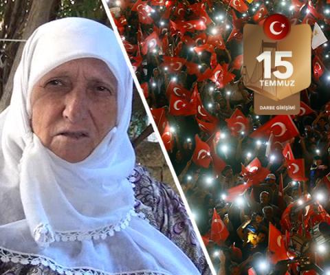Demokrasi Şehidi Şirin Diril'in annesi konuştu