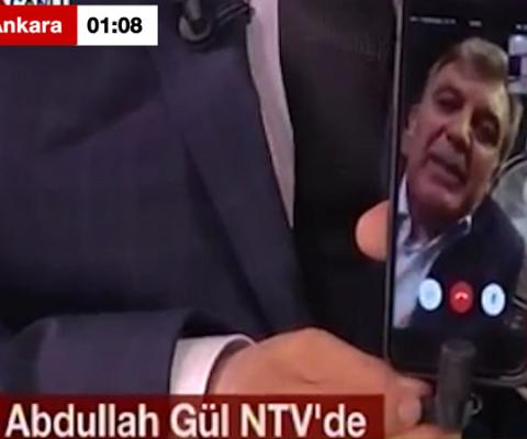Abdullah Gül'den darbeye sert tepki