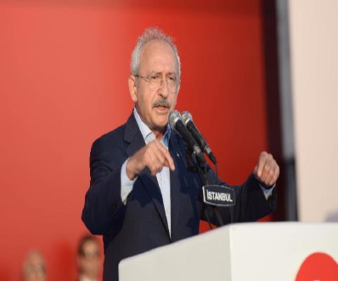 Kılıçdaroğlu's Yenikapı speech