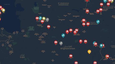 FETÖ Yapılanması - Kafkasya ve Asya