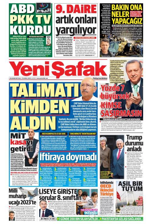 YENİ ŞAFAK - 28 Kasım 2017