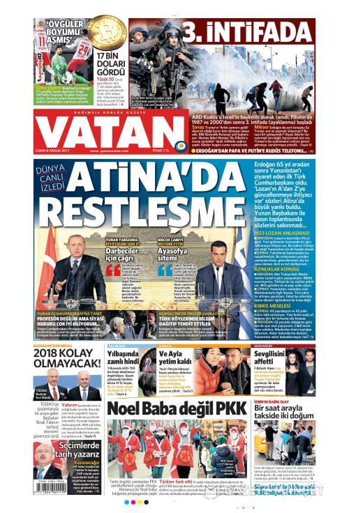 VATAN - 08 Aralık 2017