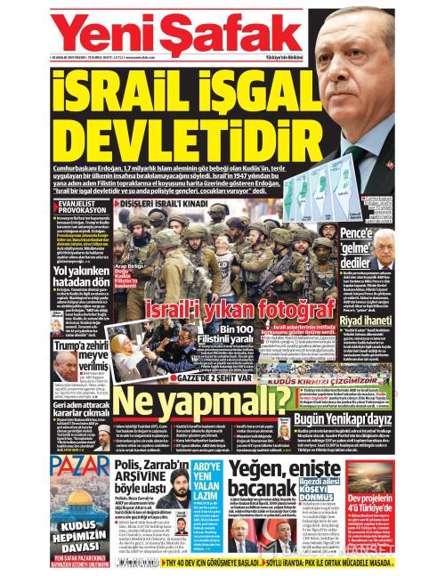 YENİ ŞAFAK - 10 Aralık 2017