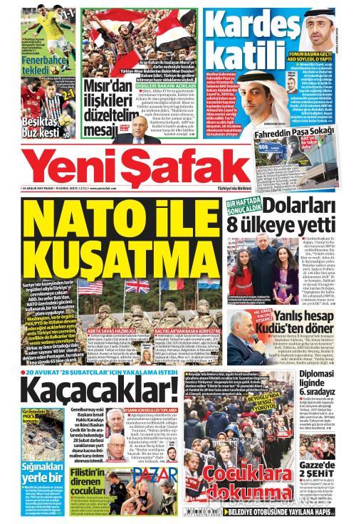 YENİ ŞAFAK - 24 Aralık 2017