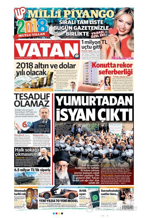 VATAN - 01 Ocak 2018