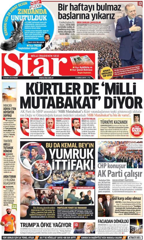 STAR - 14 Ocak 2018