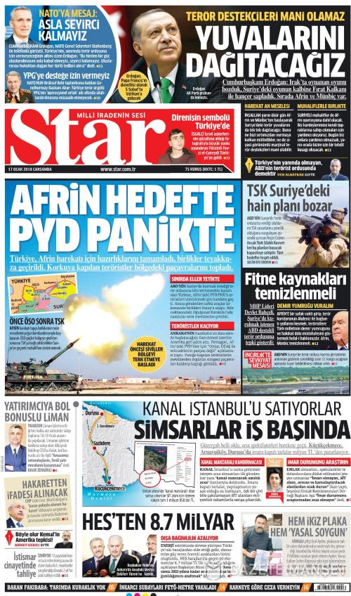 STAR - 17 Ocak 2018