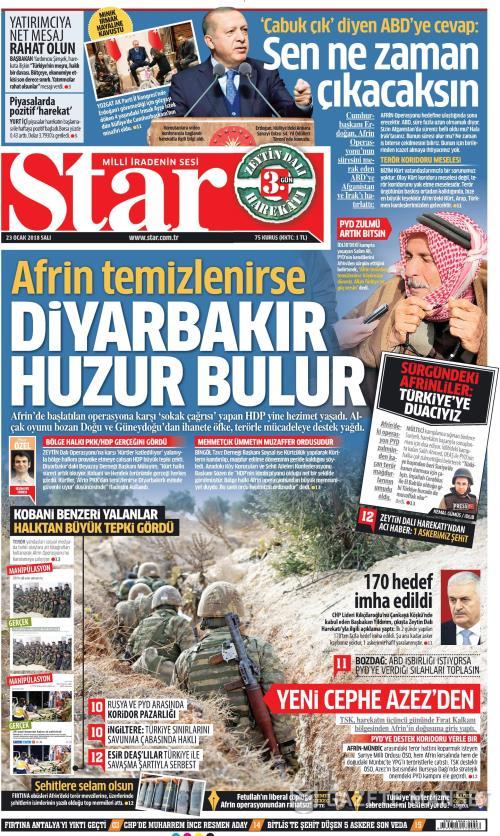 STAR - 23 Ocak 2018