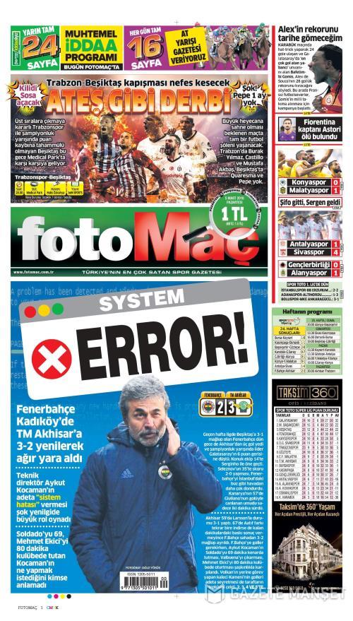 FOTOMAÇ - 05 Mart 2018